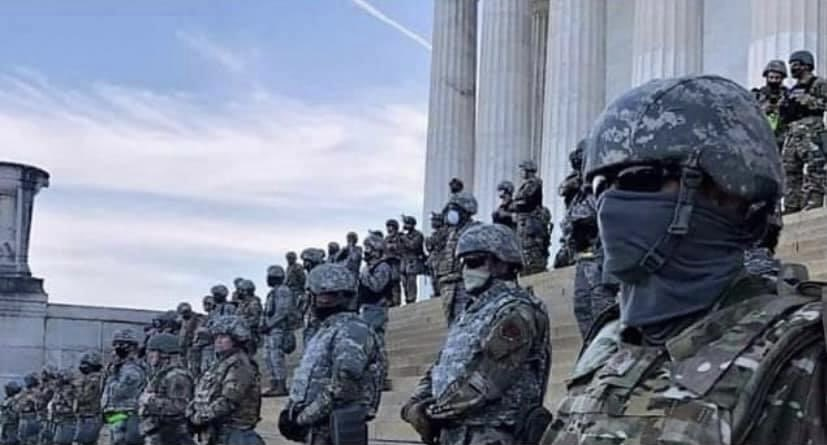 FOR THE RECORD:  This Was The U.S Capitol During The #BlackLivesMatter Protest.  #MorningJoe #FridayThoughts