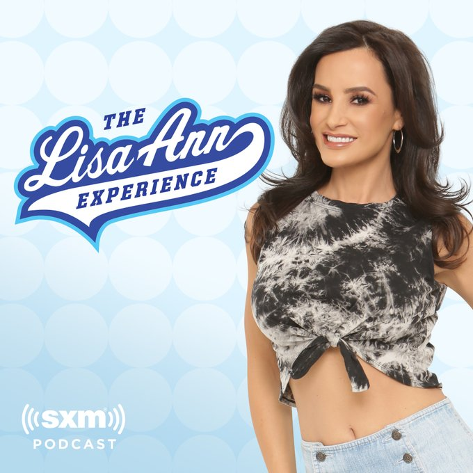 A new episode every week, new interview and new wild ride in the mail bag.. my podcast, The Lisa Ann