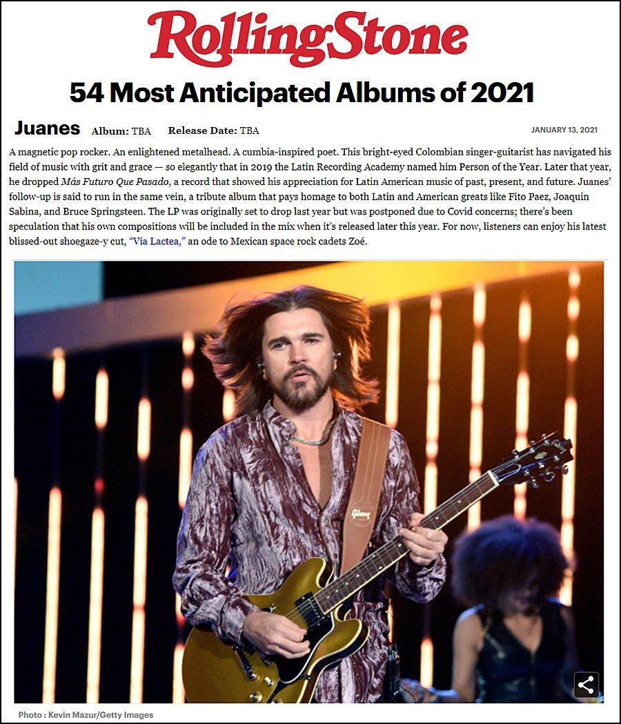 Con ganas de no esperar más!! 🔥 @RollingStone @UniversalMusica