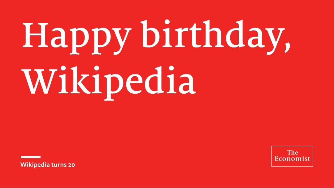 Today Wikipedia praises its twentieth birthday celebration. However, what amount do you truly think about the publicly supported reference book? Test your insight #Wikipedia20 #Birthday 🎂 #Celebration #20yearsofwikipedia  #Today ✌