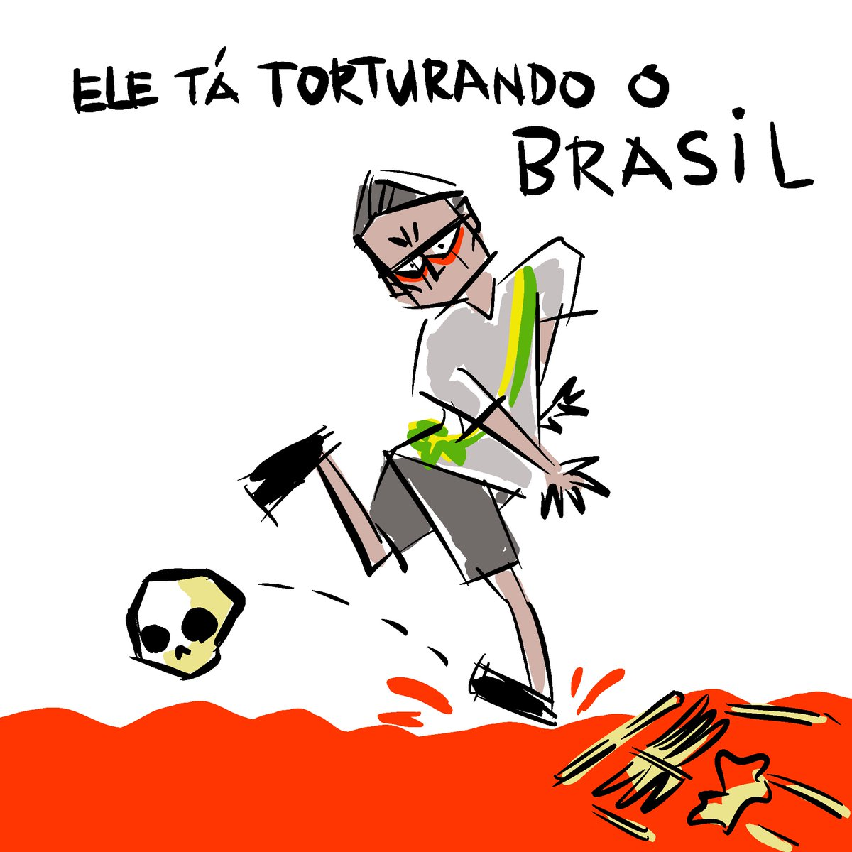 #Bolsonaro nosso #Ustra  #BolsonaroGenocida #ImpeachmentDay