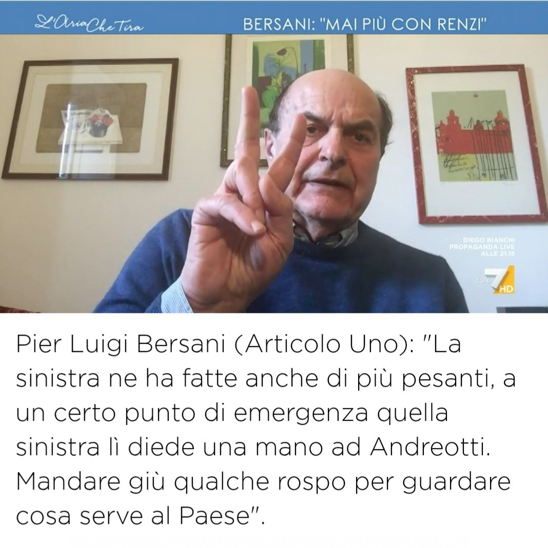 #Bersani