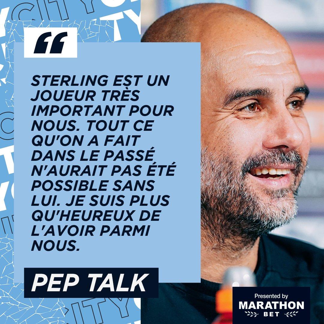 Le coach a parlé  🙌  🗣 @marathonbet 🔷 #ManCity |