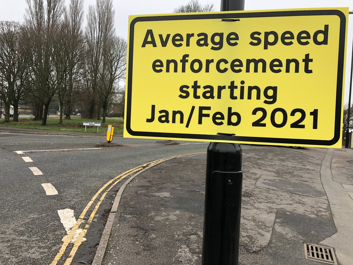 #Bablake Residents note Average Speed Enforcement by @coventrycc along The Scotshill & Burnaby Rd come into force in months of Jan/Feb 2021. Measures should reduce traffic noise, pollution. Will have other benefits. @GSSohal2020 @CllrPeteMale @LepoidevinJulia #Somehope.