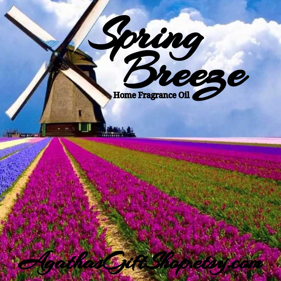 Spring Breeze Home Fragrance Diffuser Warmer Aromatherapy Burning Oil  #HomeFragranceOil #GiftShopSale #BlackFriday #PerfumeBodyOils #Incense #AromatherapyOil #CyberMonday #Etsy #HerbalRemedies #Wedding #OilWarmer