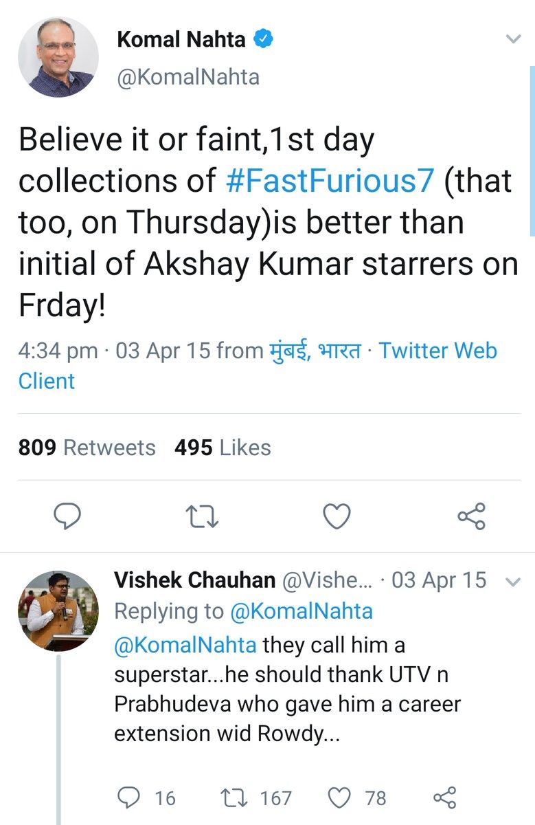 Remember #AkshayKumar Fans