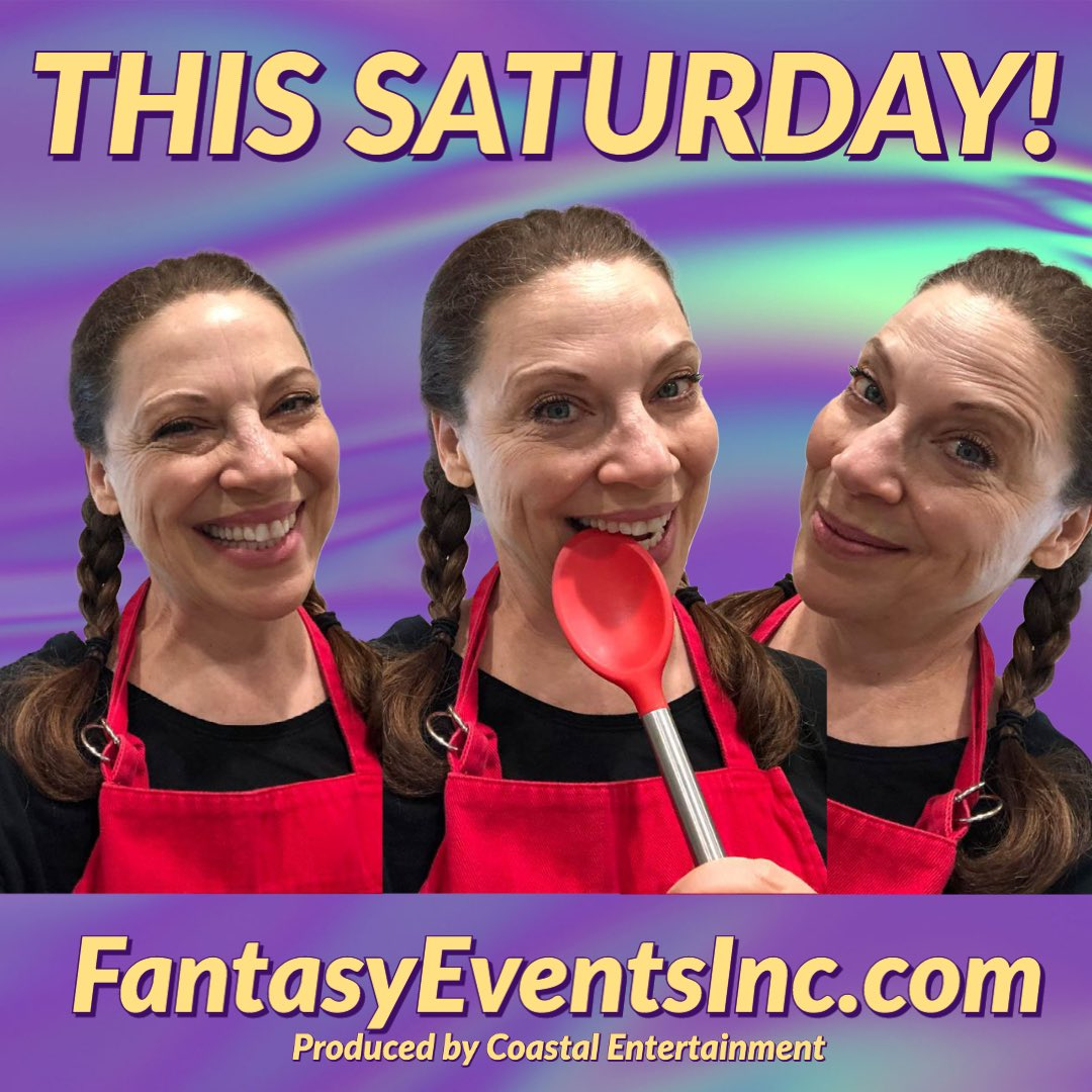 Tomorrow evening! @gatitweets we can't wait for the kitchen fun to begin @GHFantasyEvents 😁😁😁😁 #goodmorning #morningmotivation #FridayMotivation #Saturday #generalhospital #VirtualEvents #zoom with us!