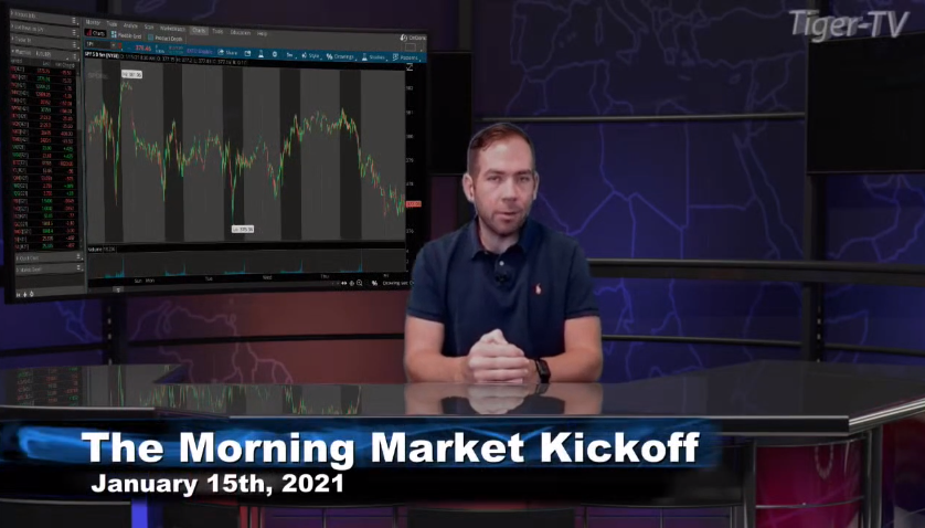 Tommy O'Brien hosts the Morning Market Kickoff for Friday on @TFNN and discussed $GC $SI $BTC $JPM and more! #Learntotrade #TFNN #StockMarketNews #FridayFinance #financialeducation #StocksToTrade #RocketEquities #TradingView