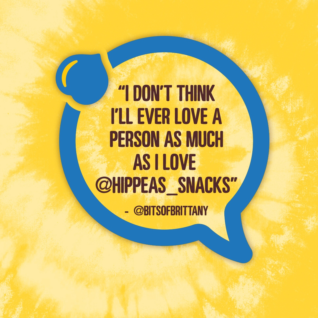 Replying to @hippeas_snacks: Chickpea snacks are our love language too 😋