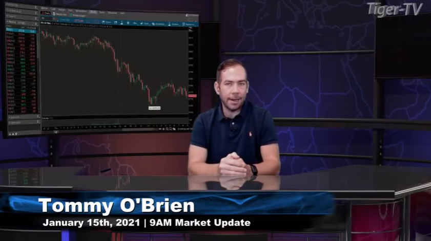 Tommy O'Brien hosts the 9AM Market News Update for Friday on @TFNN and discussed $RTY $CL $ZN $JPM and more! #Learntotrade #TFNN #StockMarketNews #Financialeducation #TradingView #FridayFinance #StocksToBuy