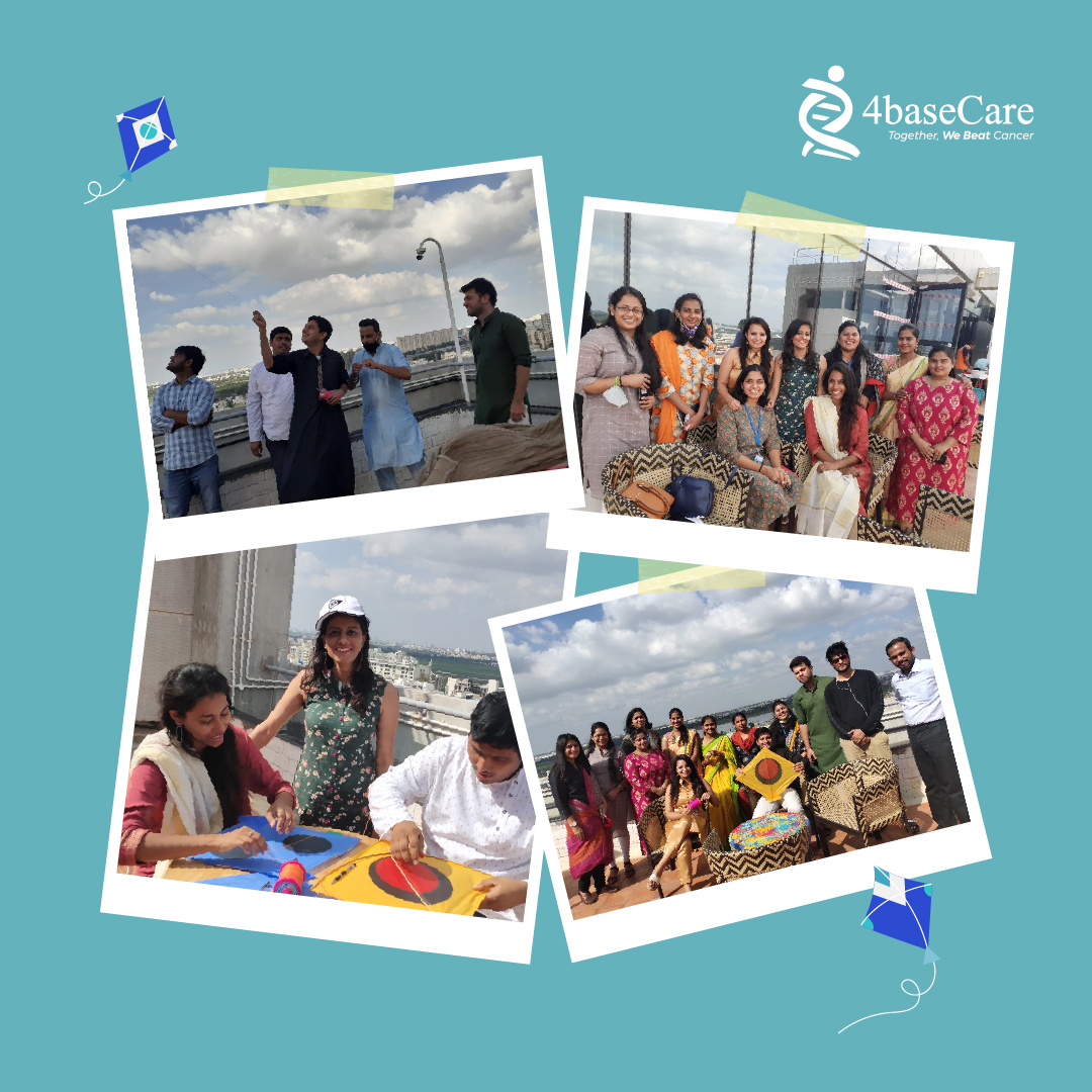 The greatness of a culture can be found in its festivals.   4baseCare Team celebrating the festival season of Lohri, Pongal & Makar Sankranti.  #FestiveSeason #Lohri #Mahasankranti #Pongal #HarvestSeason #GoodVibes #TeamSpirit #4baseCare