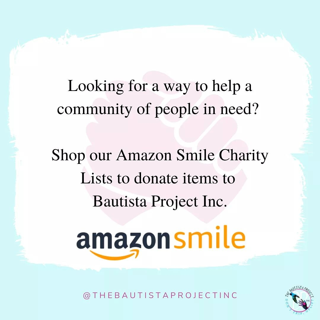 Will you help us? By purchasing an item from our @amazon smile charity list you will be providing a better life for someone in need. 🌎    #DontTripUplift #Friday #endhomelessness