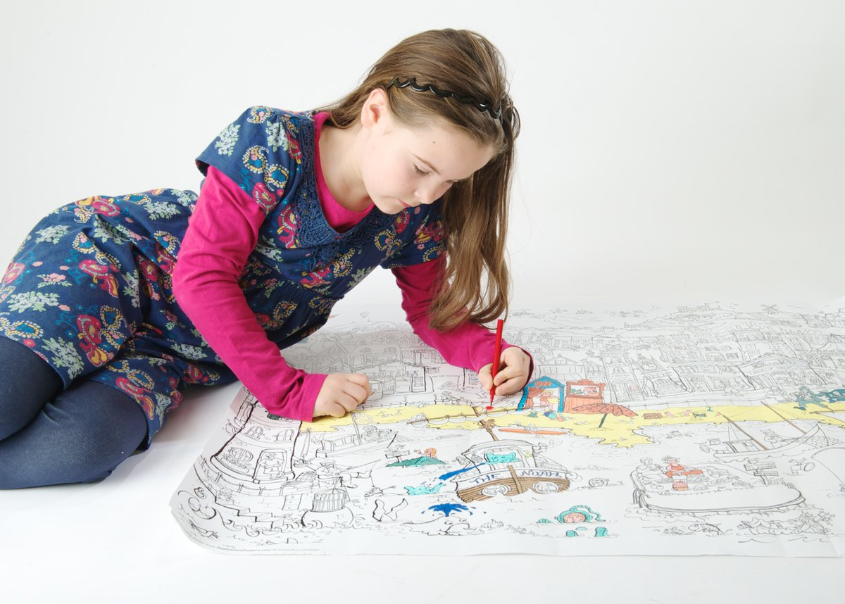 For #fridaymotivation we're offering 20% off our GIANT colouring in posters to keep you busy – use code 20%off for a discount!  #fridaythoughts #fridaymorning #fridaywisdom #fridayfeeling #vibepayfriday