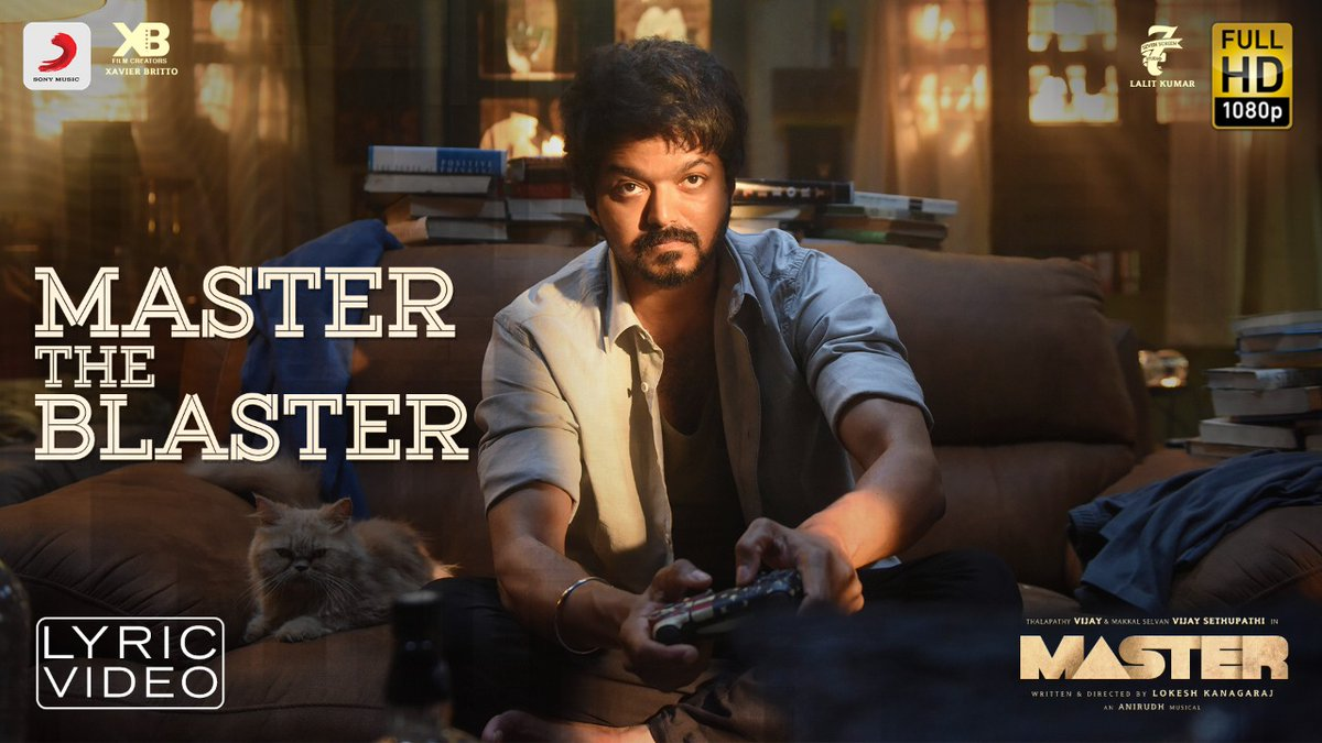 Livin it up and sippin on beer! 🍺  Hit the RT button if the TRENDING #MasterTheBlaster refuses to leave your mind! 😎🔥  ➡️   @actorvijay @anirudhofficial @Dir_Lokesh @XBFilmCreators @Jagadishbliss @Lalit_SevenScr @7screenstudio @Bjornsurrao   #MasterFilm