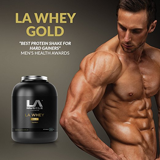 Exactly what difference can extra protein make in your muscle development? Can you get more muscles by upping your protein?  #lamuscle #protein #supplements #nutrition #muscle #training #workout #lean #health #exercise #musclegrowth #strong #lifestyle #diet