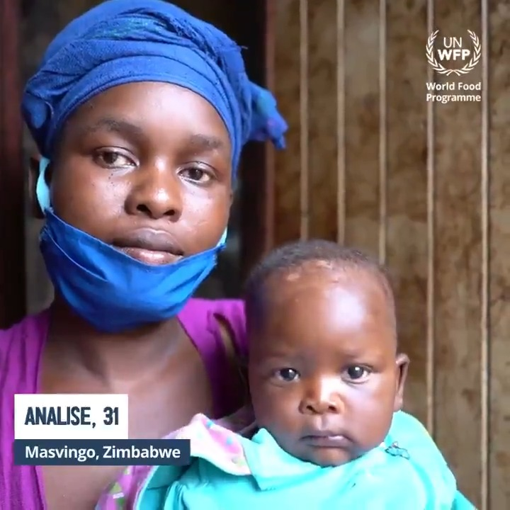 In #Zimbabwe urban areas, #COVID19 & lockdown are putting jobs & lives on the line.  WFP provides much-needed food assistance via cash transfers 💵 to the most vulnerable urban populations.  Watch the video below to see how @WFP is helping families like Analise's 👇