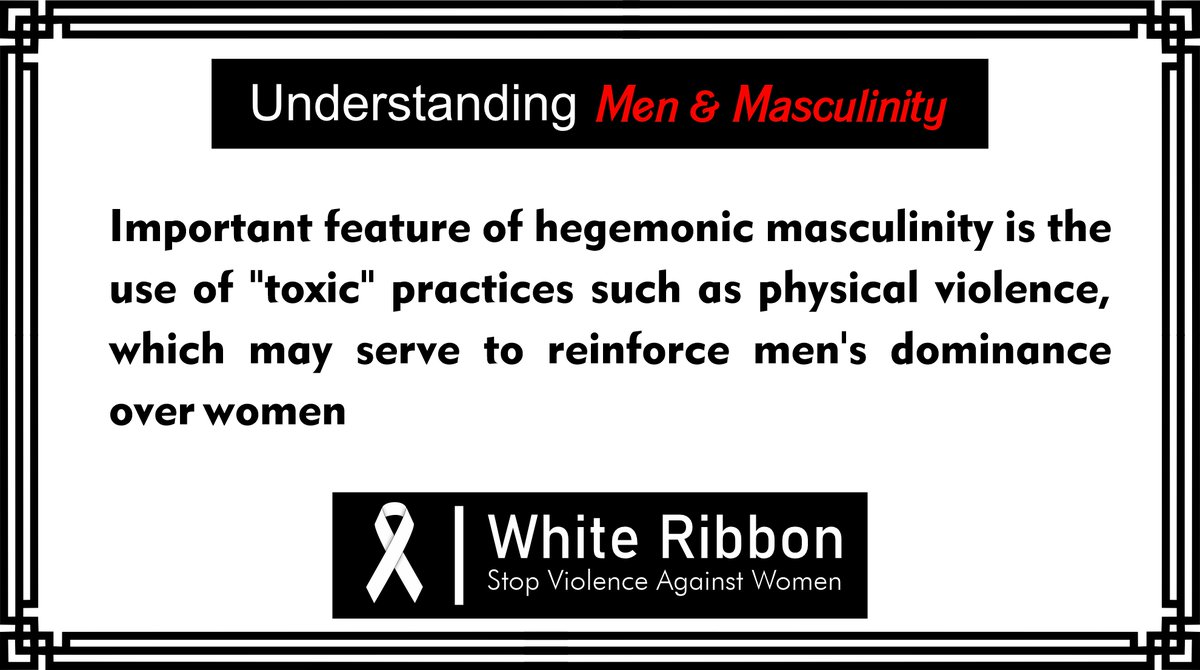 Practices, such as physical violence, may serve to reinforce men's dominance over women  #masculinity #toxicmasculinity #manliness   @sheikhimaan