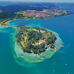 Image for the Tweet beginning: Mainau is the third-largest island