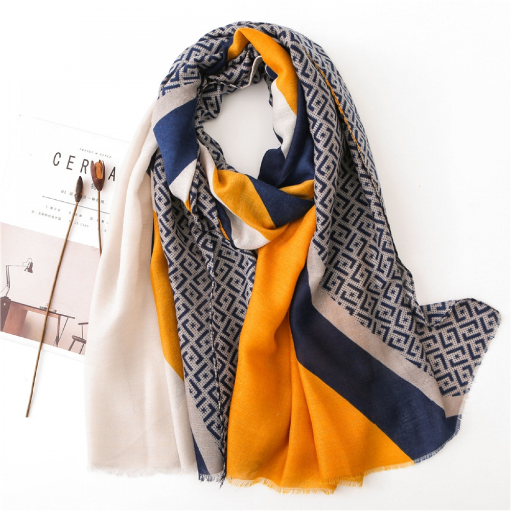 Women's Color Block Scarf #igers #tagsforlikes