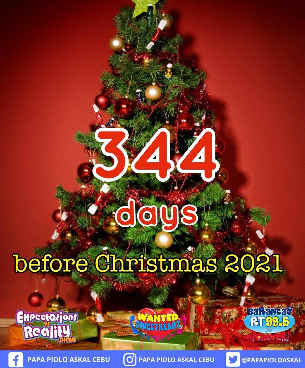 Christmas In Cebu 2021 Papa Piolo Askal Cebu On Twitter Due To Public Demand Our Christmas Countdown Is Back Christmas Countdown 2021 Is Here 344 Days Untill Christmas Mga Lodis Hohoho Christmascountdown2021 Paskonanaman Https T Co Uoxscpbvhi