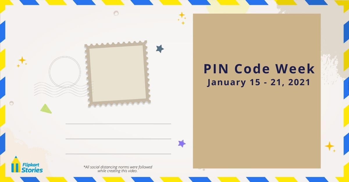 Every year, Jan 15-21 is observed as #PINCodeWeek. At @Flipkart we celebrate with our #Wishmasters who bring you stories from their PIN codes. Join them all week as they introduce you to their hometowns and take you on a journey across India! Stay tuned & watch this thread