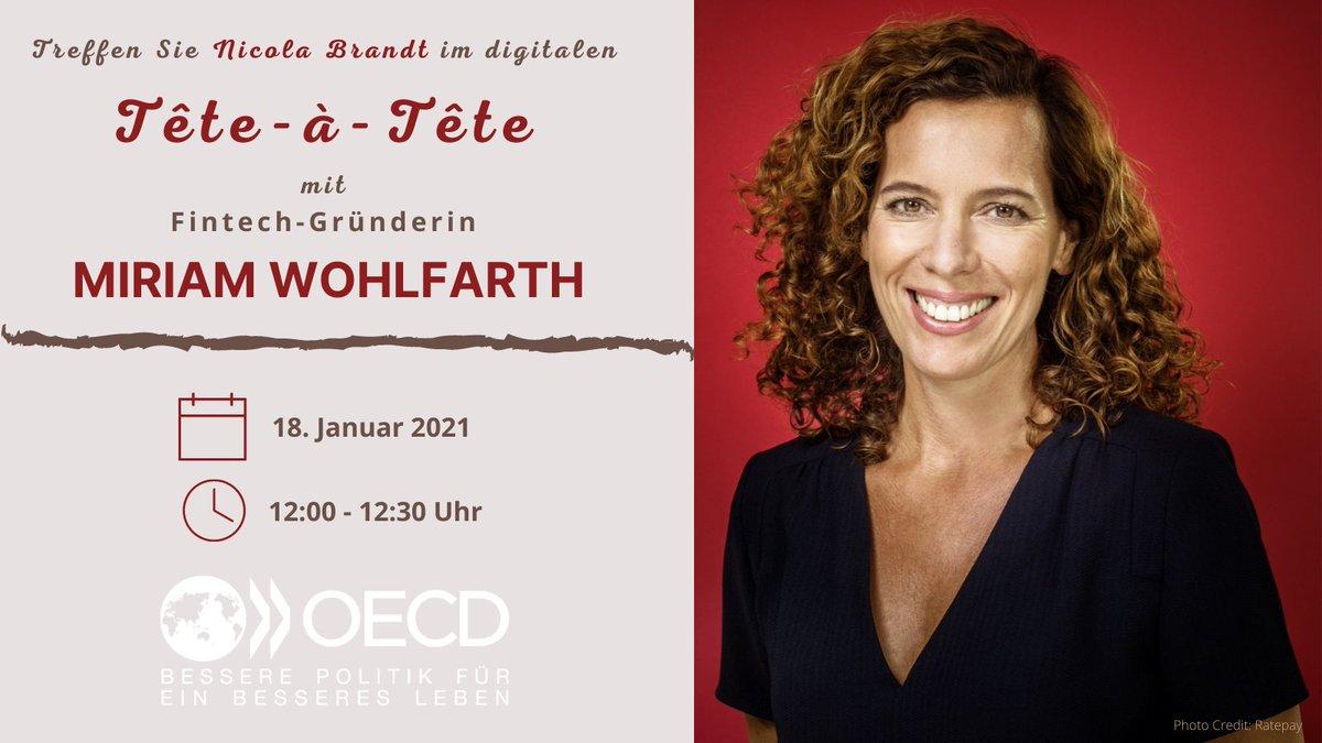 Unsere tête-à-tête-Serie ist zurück! Mit der Fintech-Unternehmerin Miriam Wohlfahrt spreche ich über ihren Weg zur Gründerin, ihr Engagement für mehr Start-Ups in Deutschland und darüber, welche Bedingungen sich dafür ändern müssten. Anmeldung hier: https://t.co/CGiZCQ7Ie7 https://t.co/EvteMeo5jB