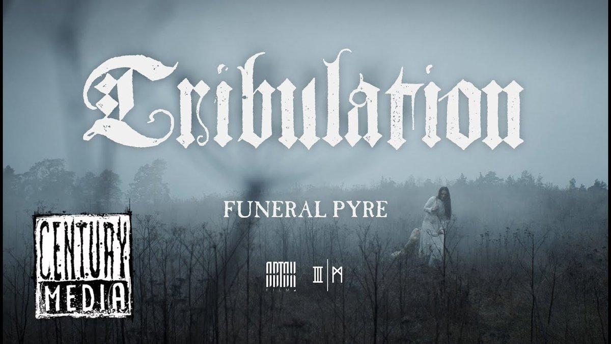 .#Tribulation dévoile le clip vidéo de la chanson « Funeral Pyre » :