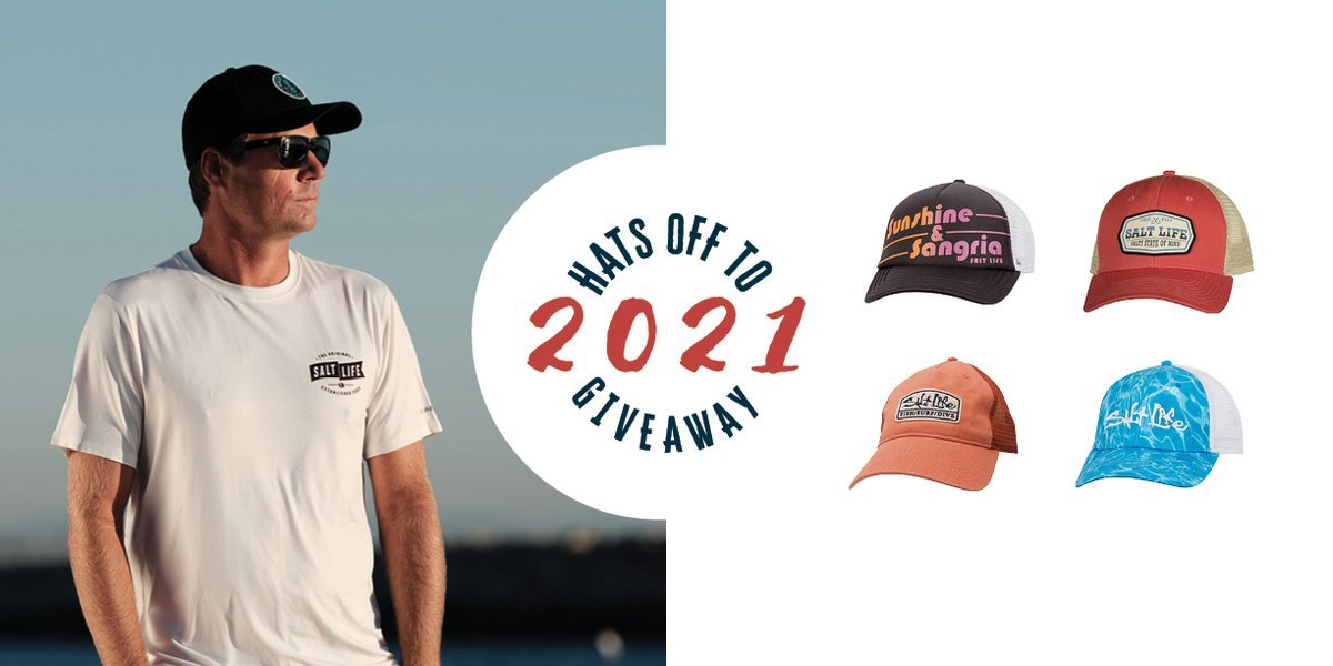 To celebrate Hat Day today, we're giving you the chance to win one of three #SaltLife Prize Packs! Each winner will receive Four Salt Life Hats, One Pair of Salt Life Optics Sunglasses and a $200 GIft Code to   #HatDay   Enter Now: