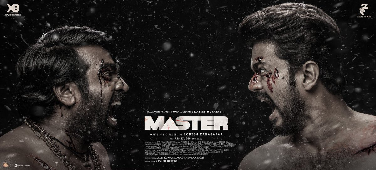 It's OFFICIAL!   Tamil Box office hit #MasterFilm  starring Thalapathy @actorvijay and @VijaySethuOffl to be adapted in Hindi by Endemol Shine India, Murad Khetani's Cine1 studios and 7 Screens.   @MuradKhetani @EndemolShineIND @Abhishek_S_Rege