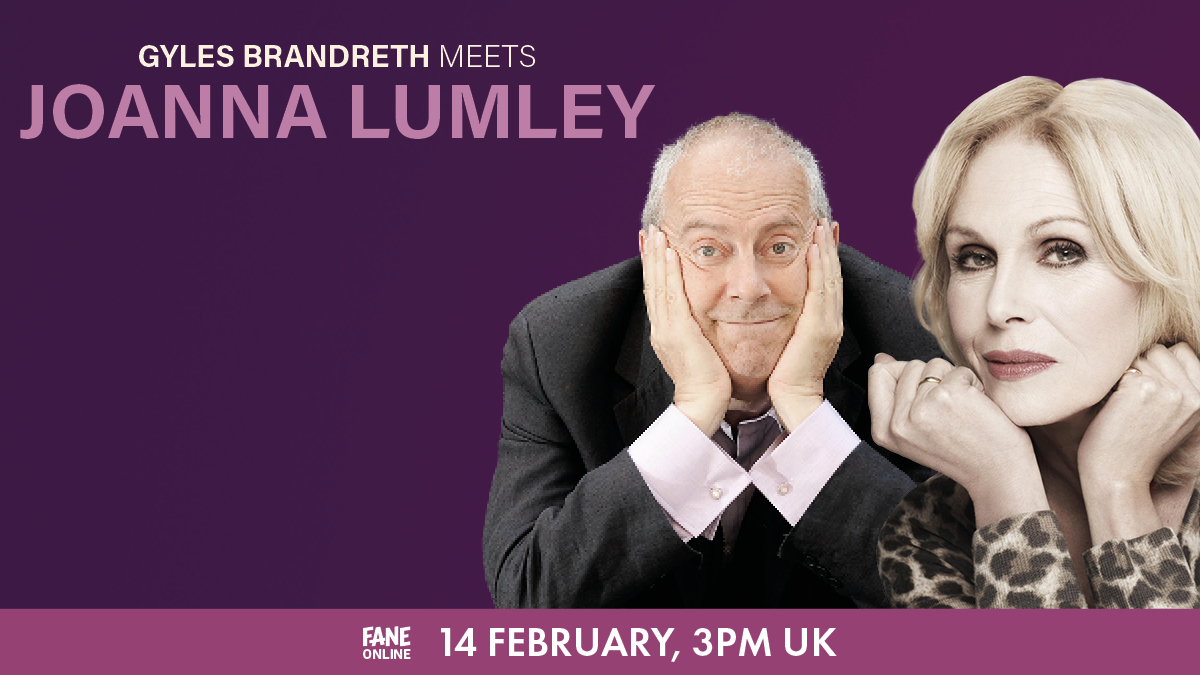 Broadcaster, Gogglebox and Just A Minute's @GylesB1 is inviting some of his favourite people to talk about their lives. And you're all invited too!  Kicking off this brand-new, online series is Joanna Lumley with a special stream on 14 February: