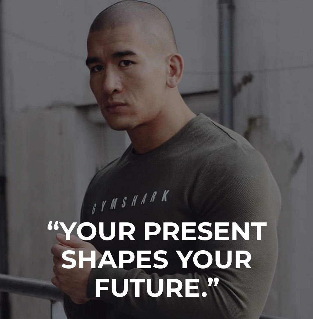 You future won't become what you want bit to be if you're not shaping it right now in the present. Everything you do, every choice you make, every action you take is either making you or breaking you..   #Motivation #Gym #Goals #Dreams #Success #Effort #Progress #Habits