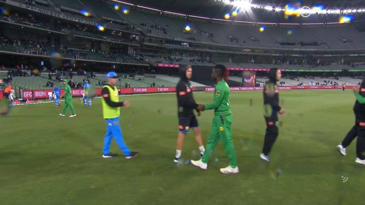 BIG BASH LEAGUE Melbourne Stars vs Adelaide Strikers  MELBOURNE STARS 179 - 2  ADELAIDE STRIKERS 68 all out  MATCH SUMMARY Melbourne Stars win by 111 runs  Image Credits: BT Sport https://t.co/kVlDpiT5lc