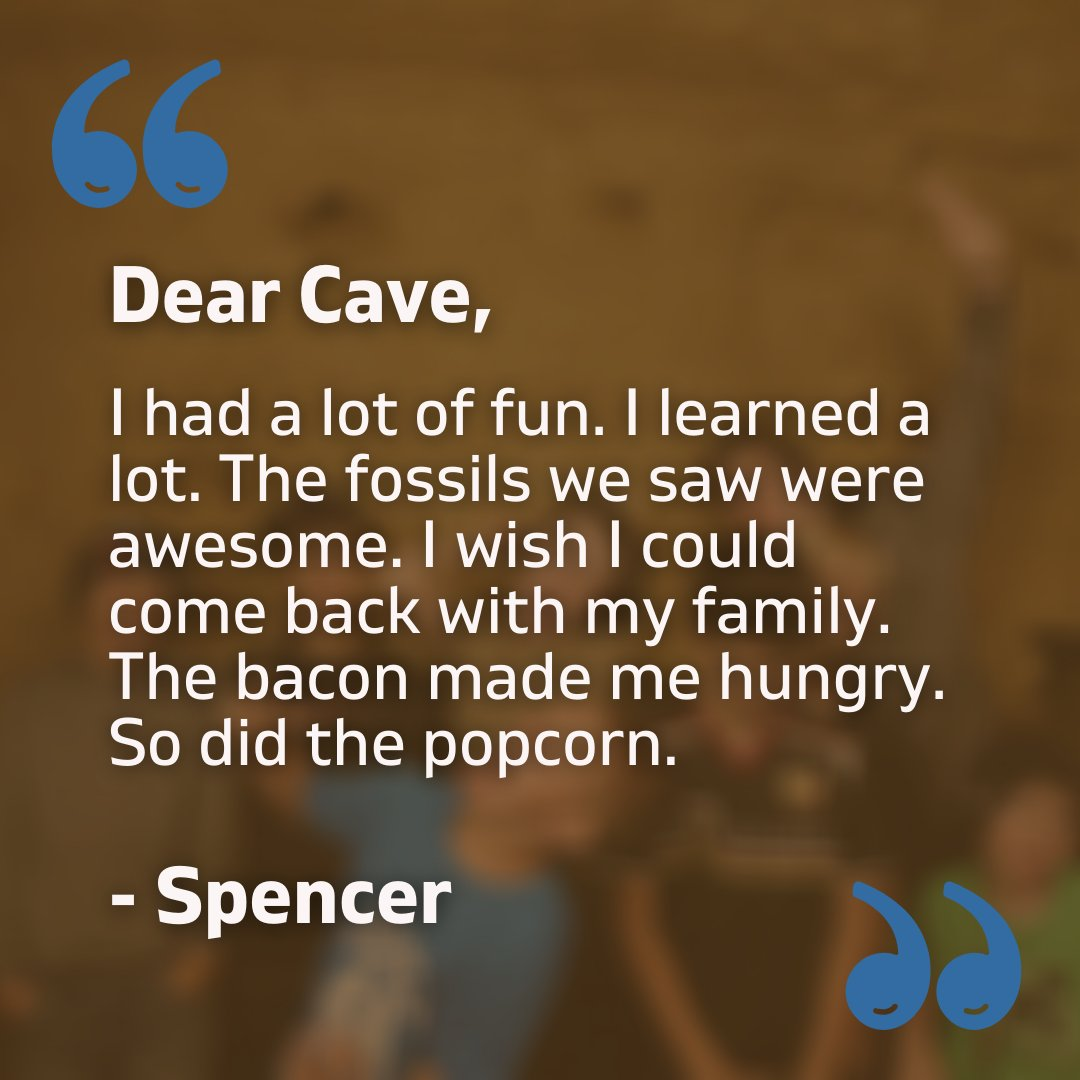Cave From the Eyes of Kids.  Cave of the Mounds is a family friendly, educational place that has had many field trips visit. Here is an excerpt from one of our letters that we received from a kid.  #caveofthemounds #thankyounote #cave #friday #fridaythoughts #fossils