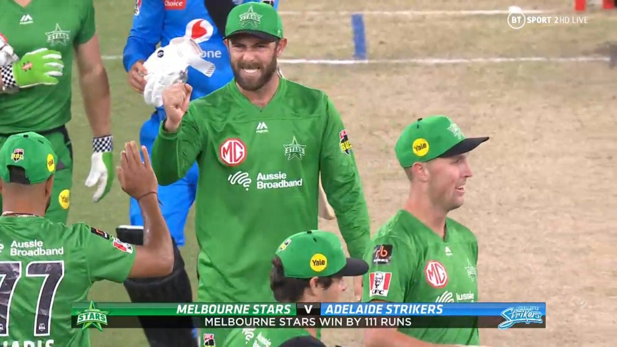 BIG BASH LEAGUE Melbourne Stars vs Adelaide Strikers  WICKET Liam O'Connor (3 runs scored) b Zampa  FALL OF WICKET ADE 68 all out 14.2 overs  Image Credits: BT Sport https://t.co/FnQrRJz56b
