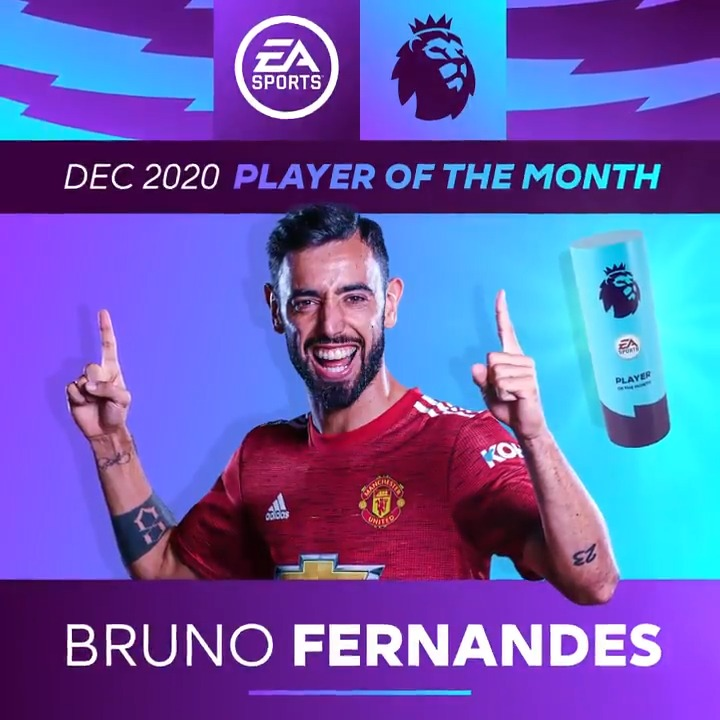 😃 @ManUtd's @B_Fernandes8 has that #FridayFeeling  🤯 The @premierleague Player of the Month award for December has made him the 1st man ever to win it 4 times in a calendar year. Has anyone ever made such a phenomenal impact in their 1st year in England?