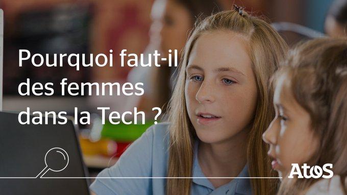 Lors de notre conférence « #WomenInAtos – Pourquoi faut-il des femmes dans la Tech...