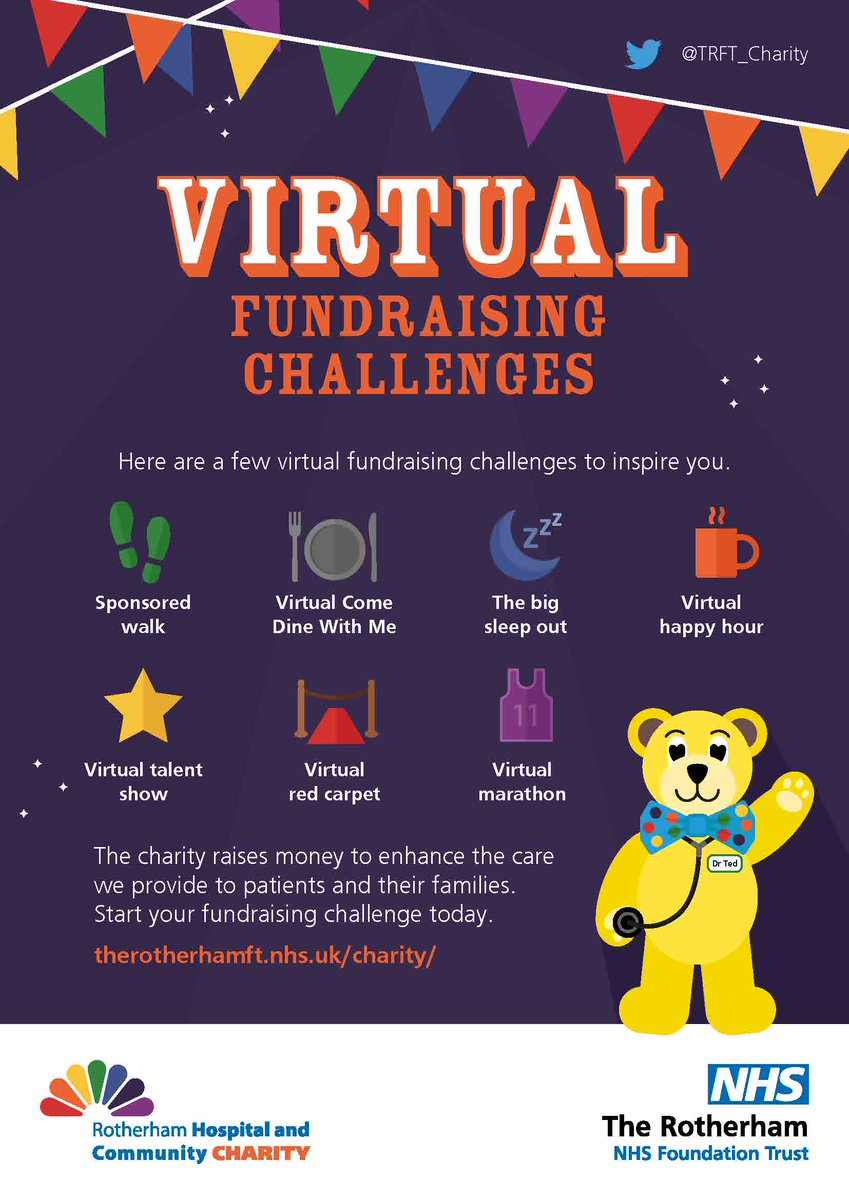 As #BigBen struck midnight on #NewYearsEve did you make a resolution to do more for your local community? If so @TRFT_Charity needs your support this year. What could you do to fundraise for your local #NHScharity this year?   #TeamTRFT #VirtualFundraising