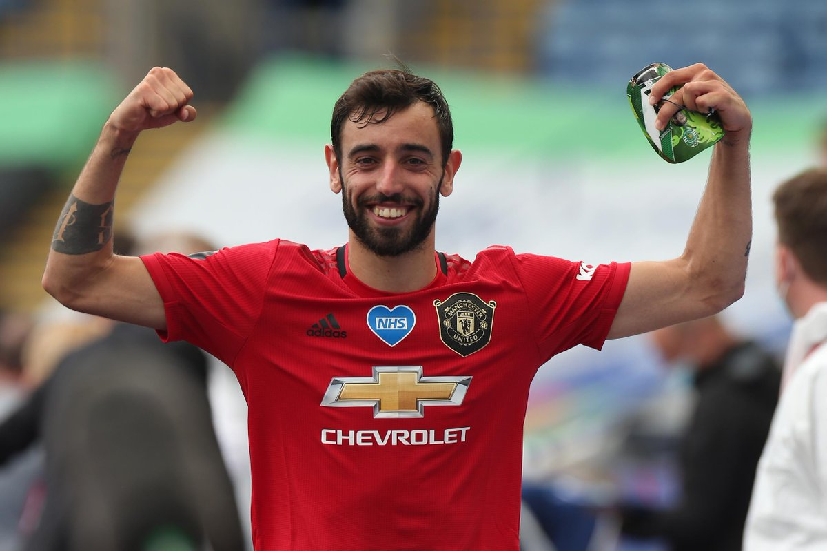 Dean Smith and Record Breaker Bruno Fernandes Bags EPL Accolades