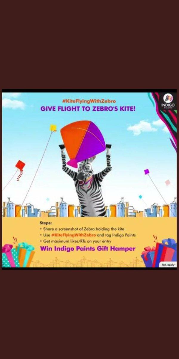 @indigopaints My perfect screenshot of zebra holding the kite   #MakarSankranti   #KiteFlyingWithZebro #MakarSankranti #ContestAlert    @indigopaints   @starvingout @sabanix @princessnehh @littlesuju123 @mumbaidexter