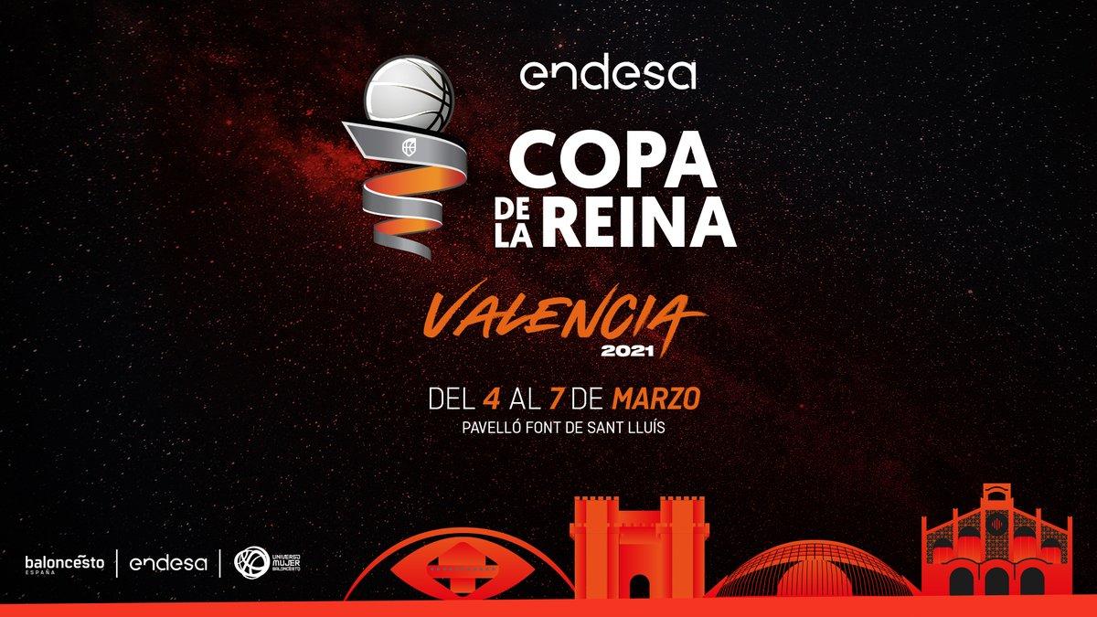 🚨 OFICIAL | Valencia acogerá las dos próximas ediciones de la #CopaReinaLFEndesa.  📝 MÁS INFO ⬇   #LFEndesa #SomosEquipo