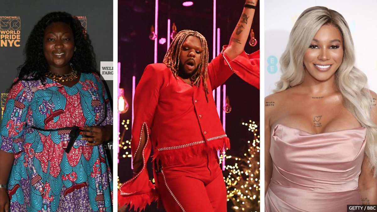 After last night's discussion between @its_tayce and @AsttinaMandella, the incredible @Otamere celebrates some of the UK's most inspirational black gay icons #DragRaceUK