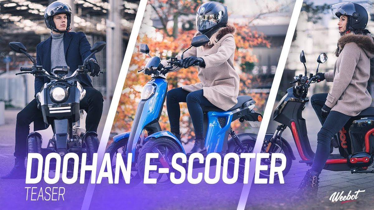 🔥Le #TEASER de nos #scooters électriques #Doohan est en ligne !!!👉  😍  🛵#exclu #Weebot #ecotransport #scooterelectric #paris #escooter #electricscooter #mobility #green #mobilitéurbaine #leader #electricmobility #electricvehicle #scooter #urbanmobility