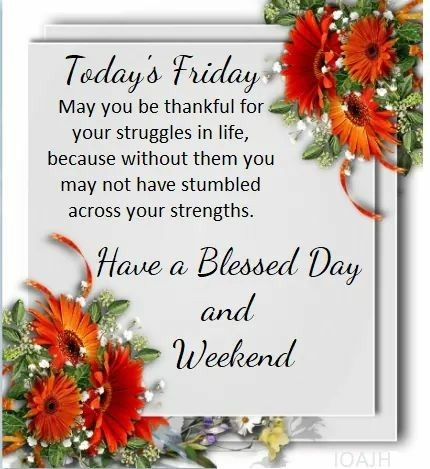 Friday Morning Blessings Images