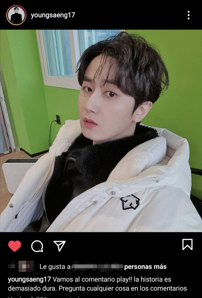[Instagram 2021.01.15] youngsaeng17  #HeoYoungSaeng #허영생 #HYS  #더블에스501 #SS501  #SS301 #DoubleS301 #TripleS #YES