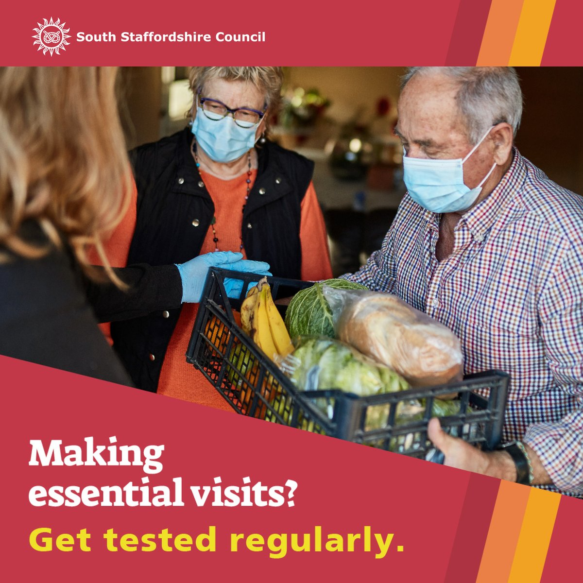 Getting tested if you don't have symptoms is free and easy to do – you can do it online in a couple of clicks. This one simple act can save lives. Don't take that risk with your loved ones, book a rapid test today.  #doingourbit #letsgettested