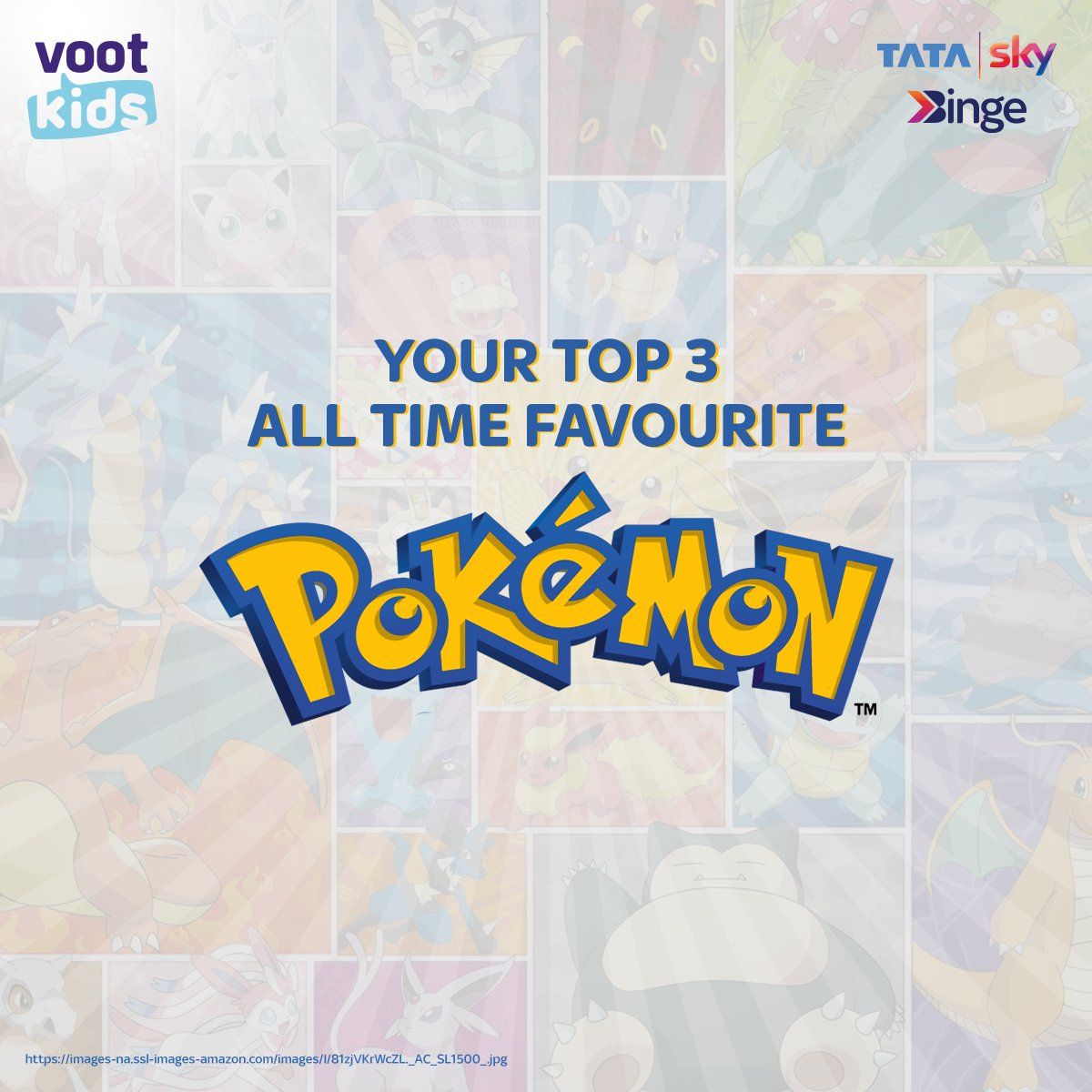 Charizard, Pikachu & Snorlax is taken😉 Tell us your favourite Pokemons in the comment section below.  Click here to get BINGE-ING-   #EntertainmentKoBadaKaro #Pokemon #BingeKaro #TataSkyBingeKaro #Binge #Bingewatch #Movies #Entertainment #LateNightBinge