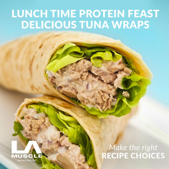 Quick and Tasty Muscle Building Tuna Wraps Lunch Time Protein Feast  #lamuscle #recipeoftheday #protein #tuna #wrap #healthy #lean #lunch #fitness #nutrition #fitfam #lifestyle #diet #FridayThoughts #FridayFunDay #fridaytips