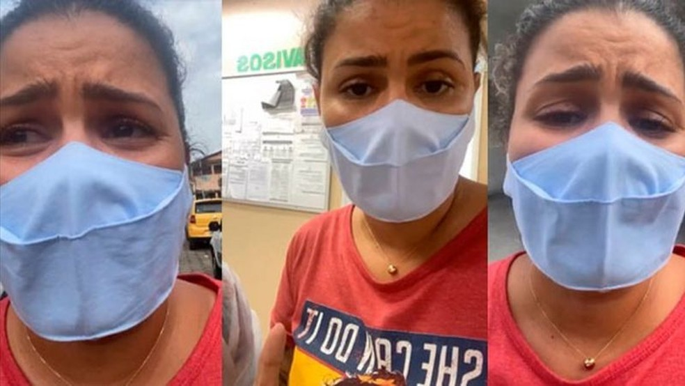 """""""Quem tiver oxigênio, por favor traga"""": mulher faz apelo ao ver desespero de pacientes em hospital de Manaus  #G1"""