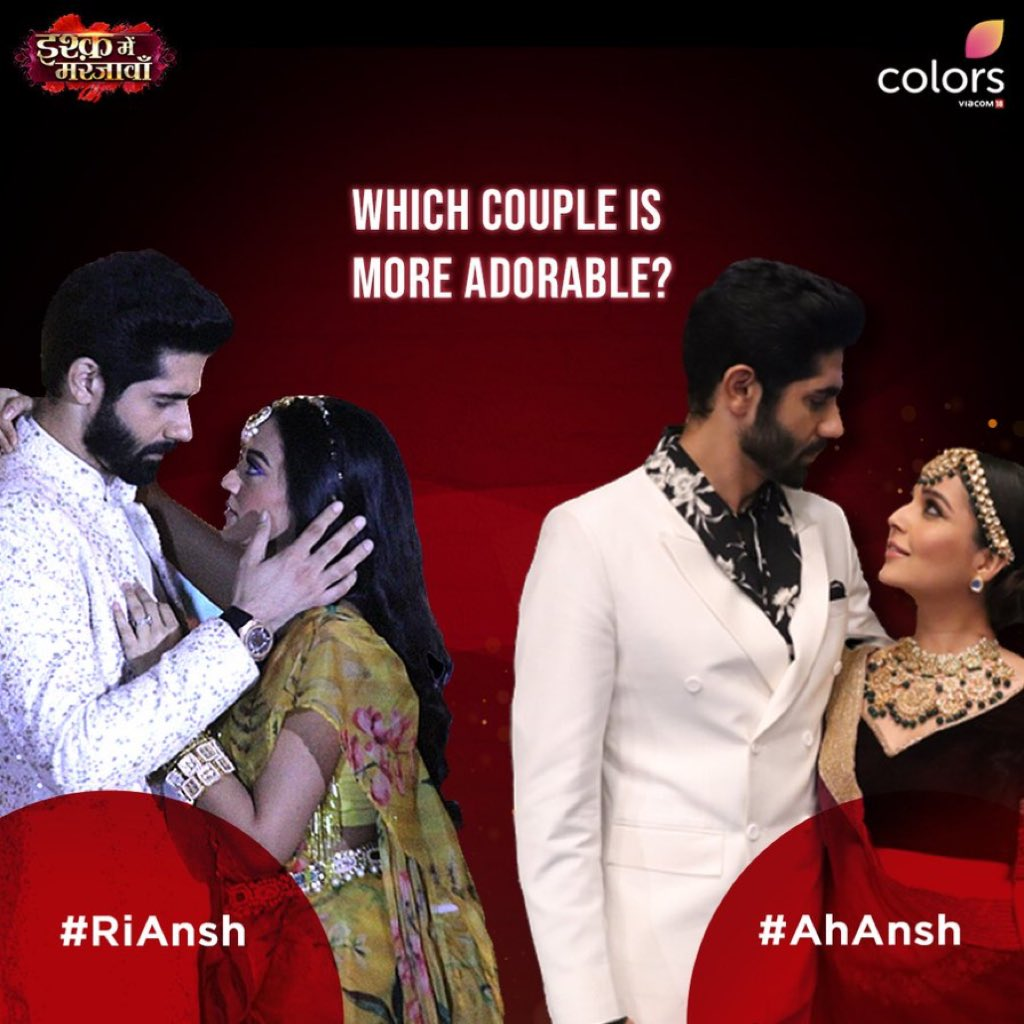 #RiAnsh or #AhAnsh, what is your choice? Tell us in the comments below. And watch #IMMJ, on #JioCinema!   @OfficialHelly7 #RrahulSudhir #MansiSrivastava #hellyshah