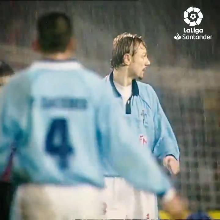 𝒯𝒽𝑒 𝒽𝑒𝓇𝑜 𝑜𝒻 𝐵𝒶𝓁𝒶𝒾𝒹𝑜𝓈... 💫  #OnThisDay in 1999, Valeri Karpin scored twice in a 4-2 win for @RCCeltaEN in #LaLigaSantander! 💙🇷🇺  #YouHaveToLiveIt
